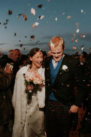 """Location: Arbroath, Scotland Date: December 15, 2012  Photographer: Daniel  """"Absolutely brilliant photos for our wedding! Daniel stayed from the start to the very finish and we could not be happier with our photos, or recommend Daniel highly enough for anyone else getting married. Genuinely superb, many thanks."""" - Roddy"""