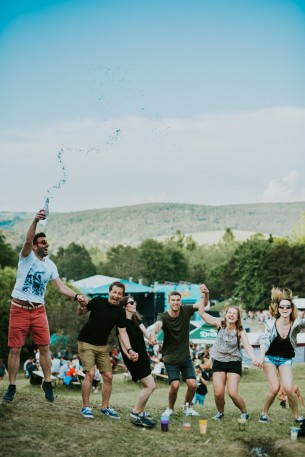 Location: Orfű, Hungary Date: June 20, 2019  Photographer: Daniel  I always knew that I would eventually meet a couple who were just as in love with Orfű and FOO festival as much as I was... I just didn't know they would be this cool!